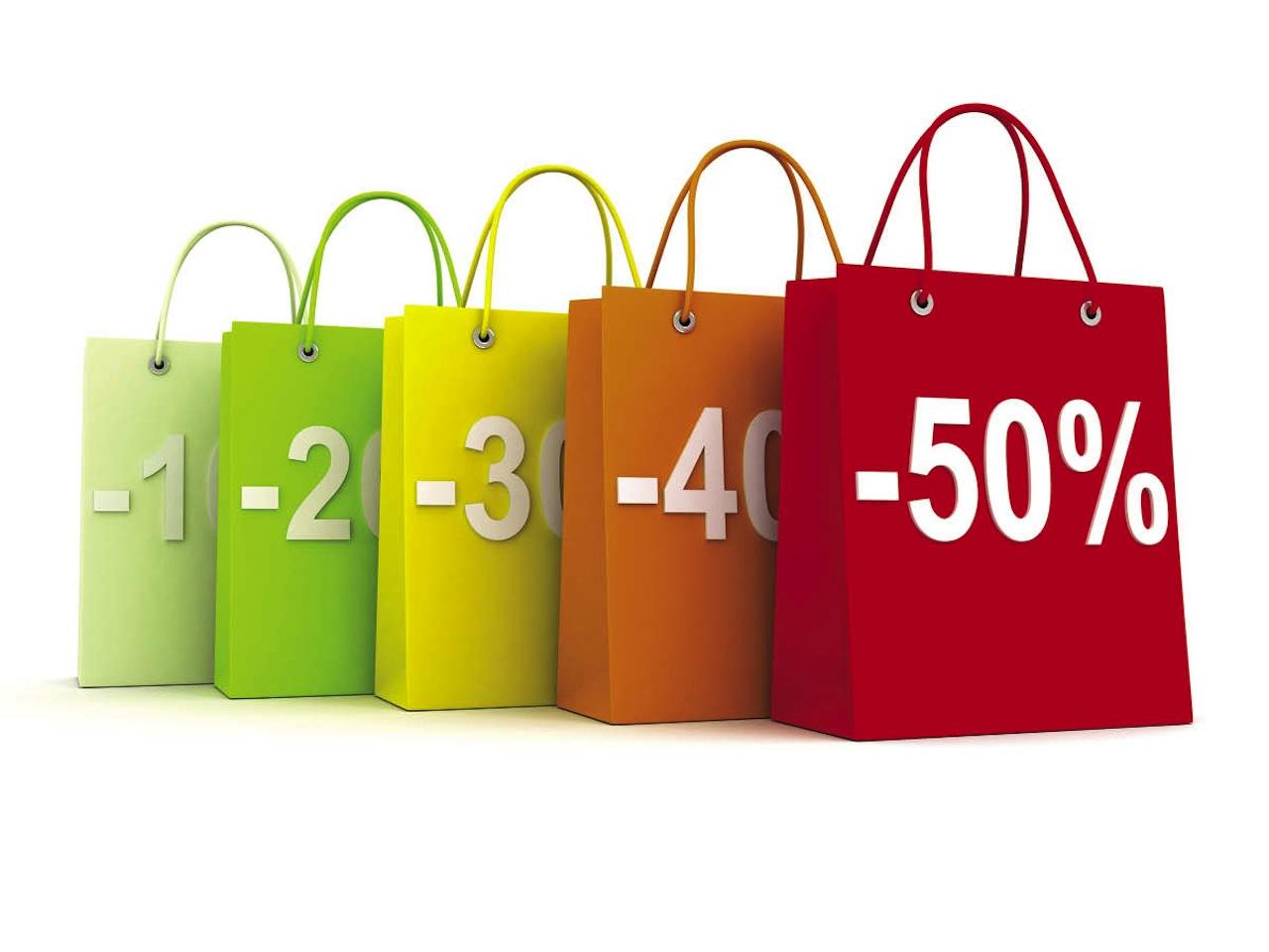 descuentos porcentajes bolsas