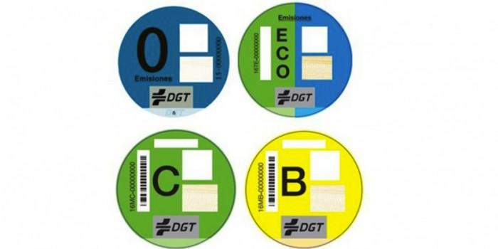 etiquetas emisiones coches