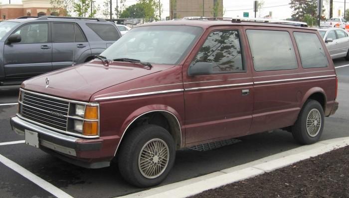 furgoneta Chrysler Minivans