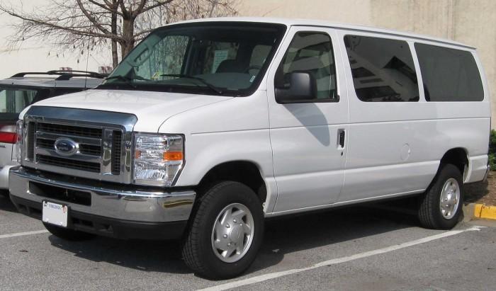 furgoneta Ford Econoline Serie E