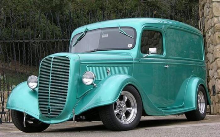 furgoneta Panel Van