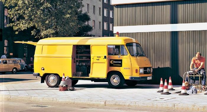 furgoneta Vans Mercedes