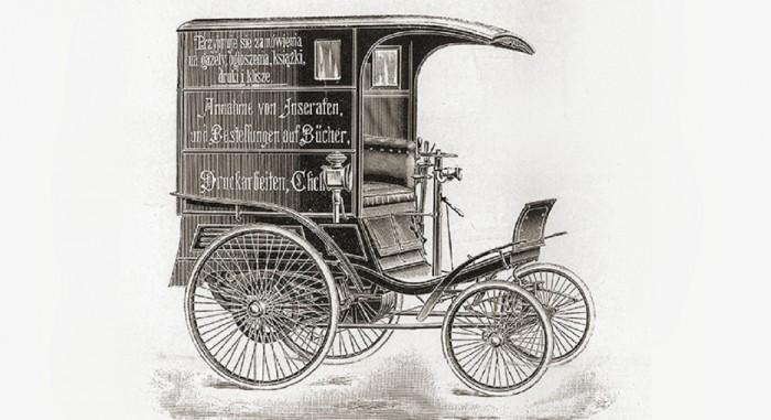 furgoneta de Benz