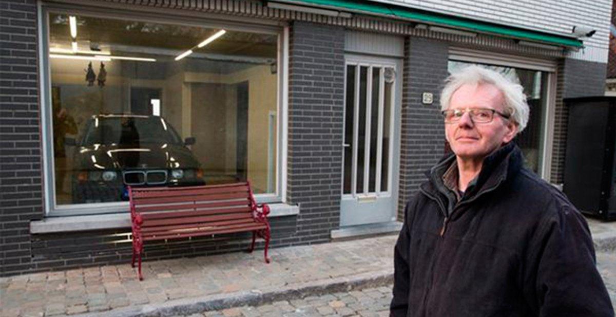 jubilado que crea un garaje tras la negativa del ayuntamiento