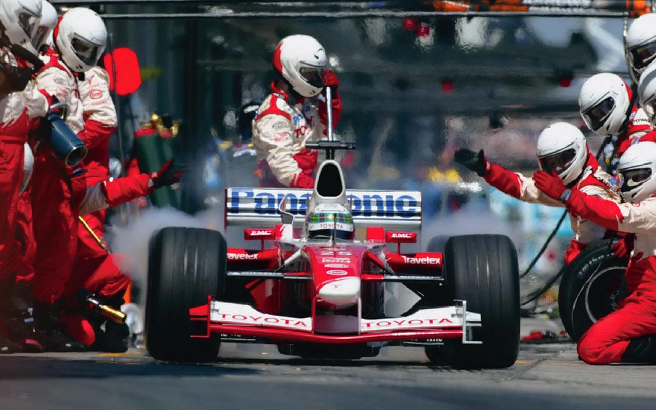 pit stop Fórmula 1