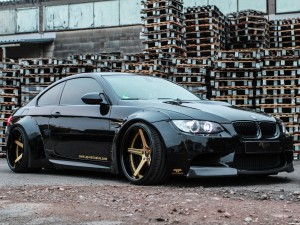 PP-Exclusive BMW M3 Coupe With Liberty Walk Widebody E92 2015