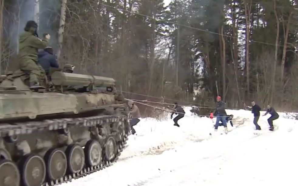 snowboard ruso tanque