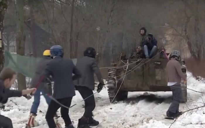 snowboard tanque