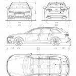 Audi A6 Avant 2016 medidas