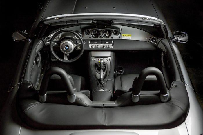 BMW Z8 2002 interior 01