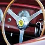Ferrari 340 America Barchetta by Touring 1951 interior 5