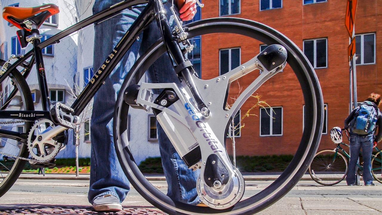 GeoOrbital bici motorizada