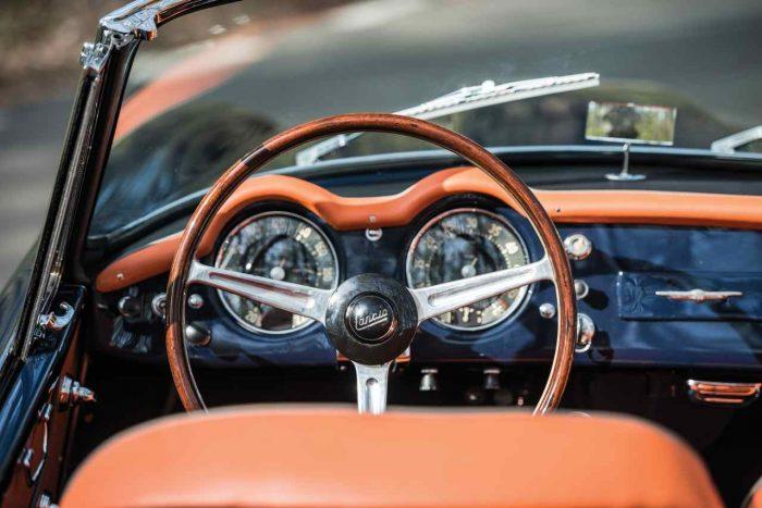 Lancia Aurelia B24S Convertible by Pinin Farina 1958 interior 1