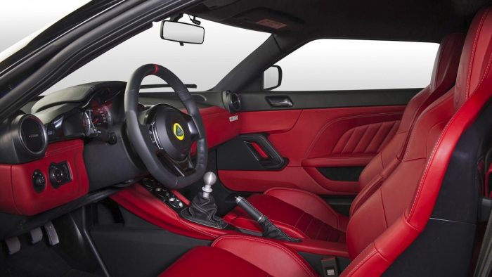 Lotus Evora 400 Hethel Edition 2016 interior