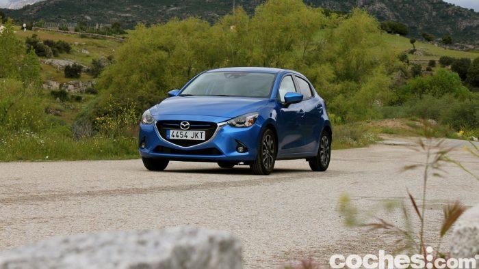Mazda 2 prueba 33