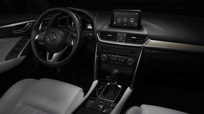 Mazda CX4 China 2016 interior 02