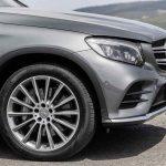 Mercedes-Benz GLC. 15 Leichtmetall-Räder in verschiedenen Speichen- und Designausführungen bis zu einer Größe 20 Zoll stehen zur Verfügung.