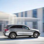 Mercedes-Benz GLC 350e 4MATIC, EDITION 1, (X 253) 2015, SELENITGRAU met, Designo Leder Nappa Platinweiß, AMG Line Exterieur