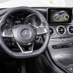 Mercedes-Benz GLC 350e 4MATIC, EDITION 1, SELENITGRAU, Designo Leder Nappa Platinweiß im Interieur  und AMG Line ExterieurMercedes-Benz GLC 350 e 4MATIC, EDITION 1, Designo, Platinum White Interior