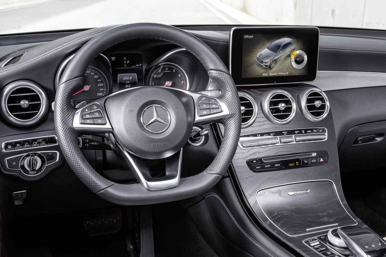 Mercedes glc 350e 4matic el h brido enchufable for Interieur und exterieur