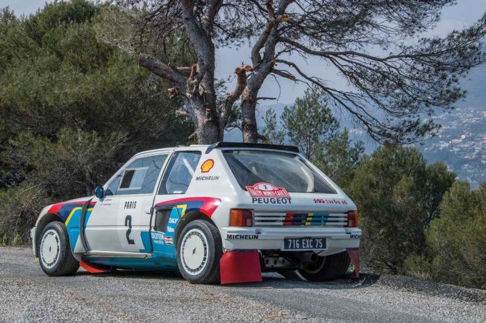 Peugeot 205 Turbo 16 Evolution 1 Group B 1984 02