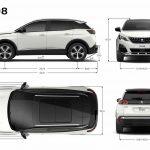 Peugeot 3008 2017 medidas 1
