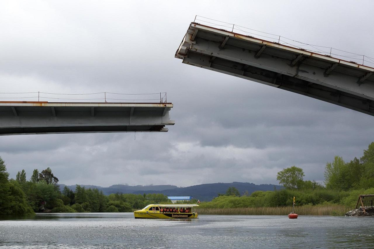 Puente Cau Cau Chile