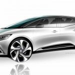 Renault Grand Scenic 2016 boceto 3
