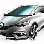 Renault Grand Scenic 2016 boceto 4
