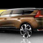 Renault Grand Scenic 2016 boceto 6