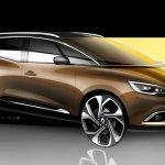 Renault Grand Scenic 2016 boceto 7
