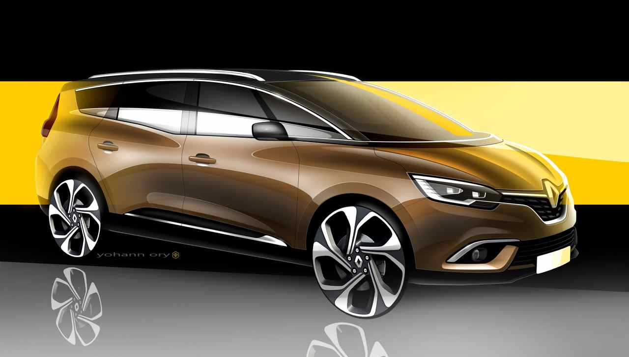 renault grand scenic 2016 el monovolumen atractivo. Black Bedroom Furniture Sets. Home Design Ideas