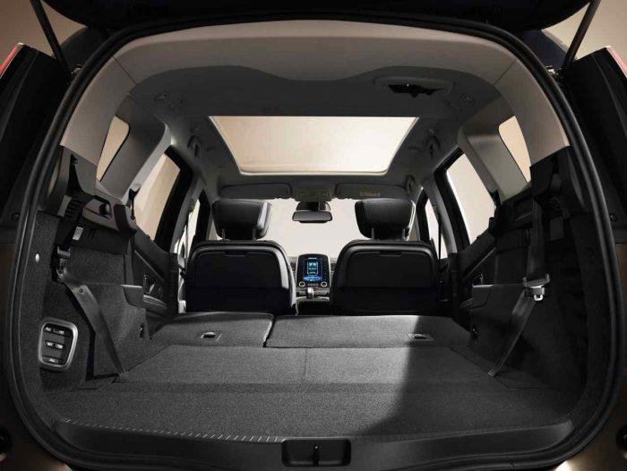 Renault Grand Scenic 2016 interior 2