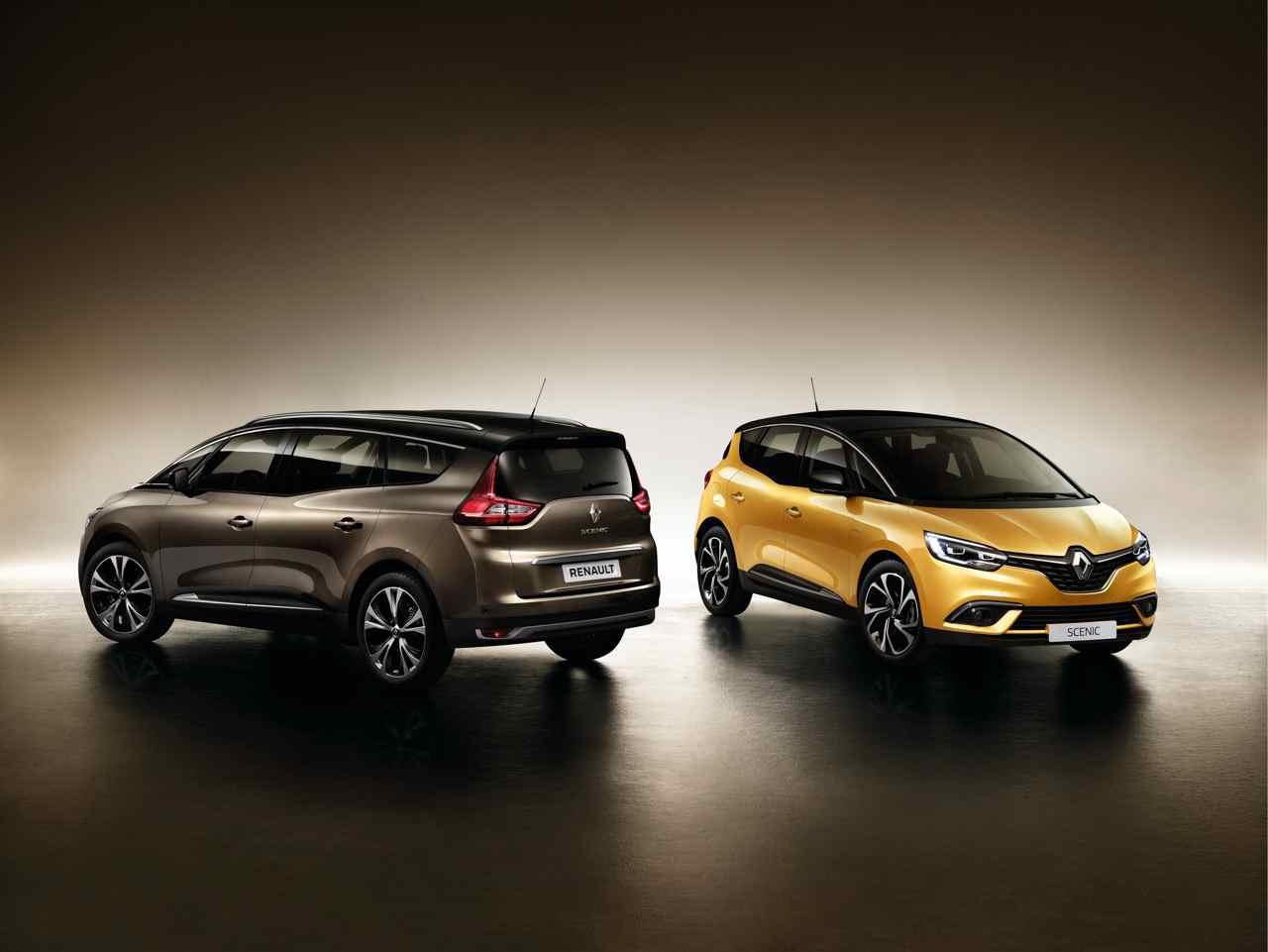 Renault Scenic 2016 y Renault Grand Scenic 2016