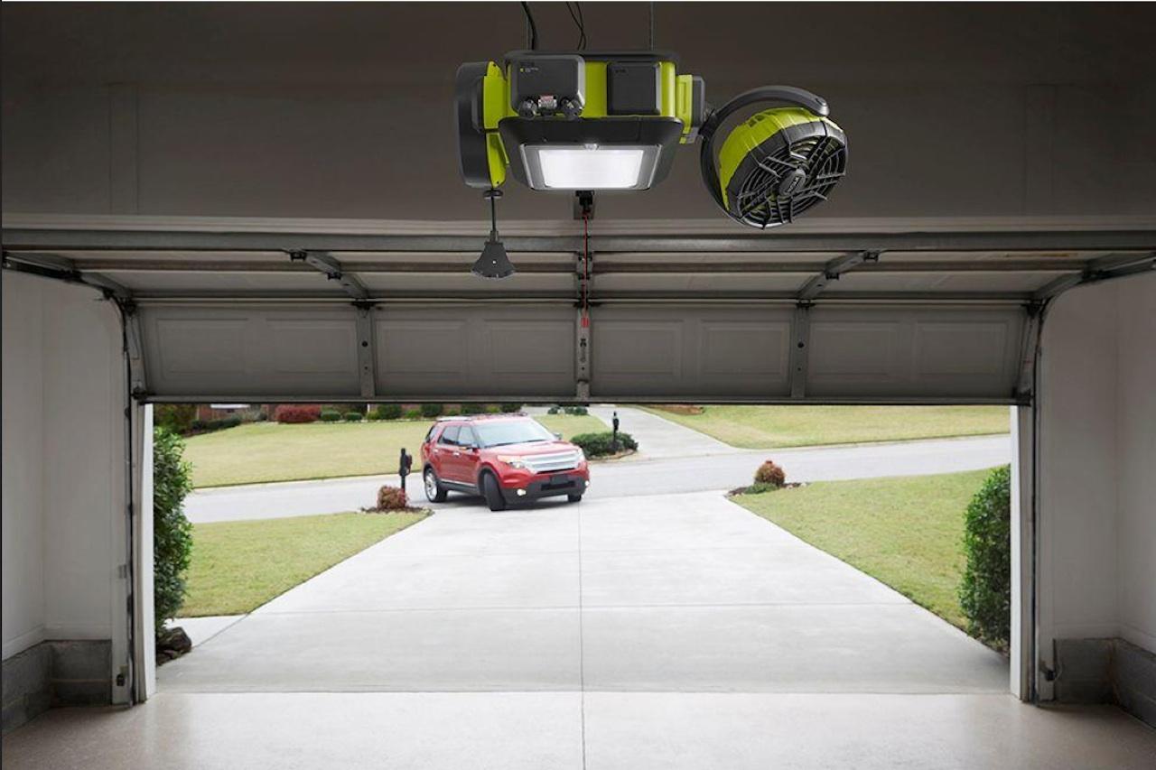 El sistema de apertura de garaje m s vanguardista del mundo for Garaje de coches