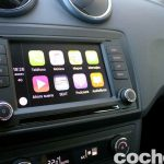 Seat Ibiza Connect 2016 prueba interior 3