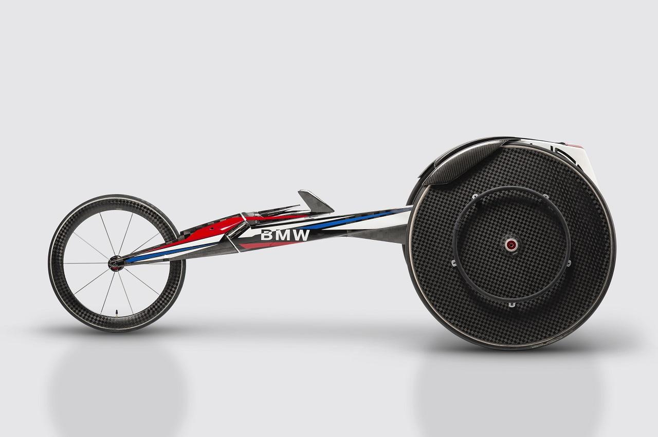 Silla de ruedas BMW juegos paralímpicos 2016