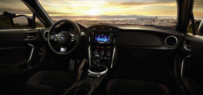 Subaru BRZ 2017 USA interior