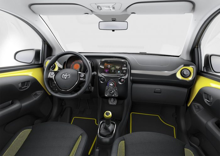 Toyota Aygo x-cite 2016 interior