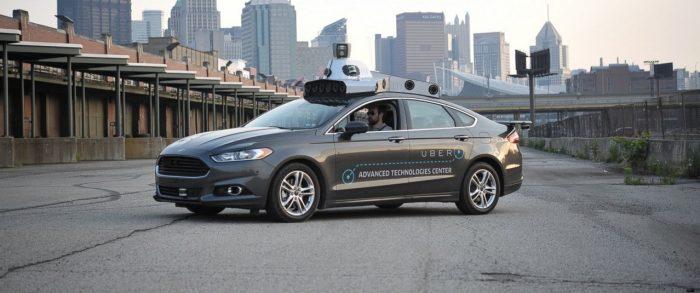 Uber autonomo FF
