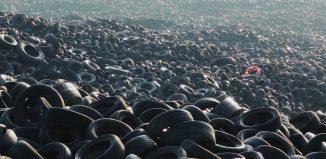 Neumáticos viejos