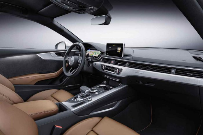 Audi A5 Coupé 2017 interior