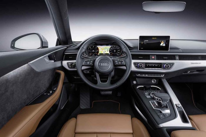 Audi A5 Coupé 2017 Cockpit