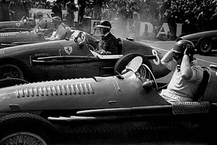 Fangio piloto de F1