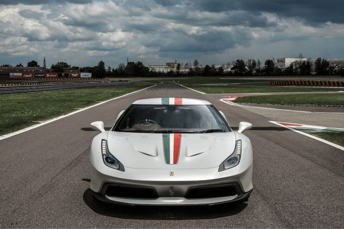 Ferrari 458 MM Speciale frontal