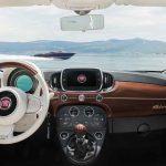 Fiat 500C Riva 2016 interior 01