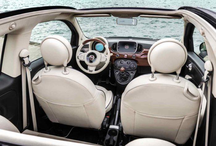 Fiat 500C Riva 2016 interior 02