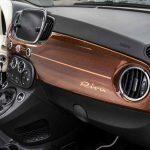 Fiat 500C Riva 2016 interior 08