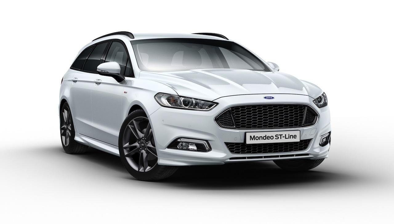 Ford Mondeo Sportbreak ST-Line 2016 01