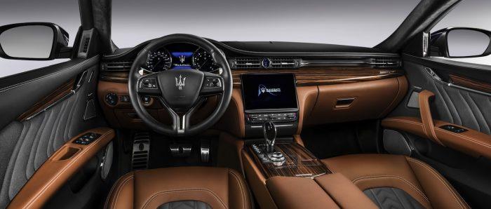 Maserati Quattroporte SQ4 GranLusso 2016 salpicadero Zegna Edition